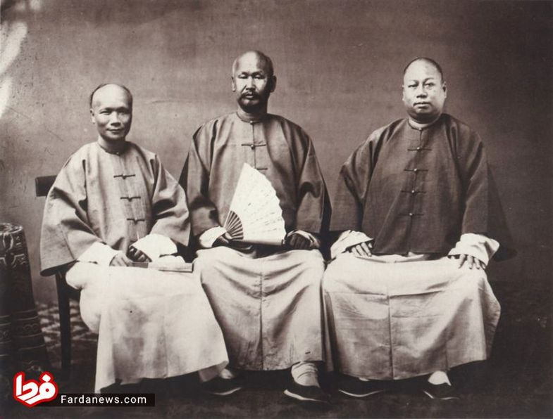 مردم چین در ۱۵۰ سال قبل + عکس
