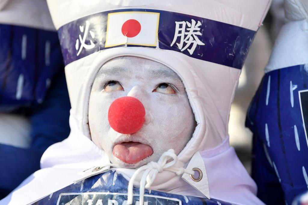 ظاهر خنده دار هوادار ژاپنی! + عکس