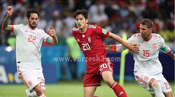 «سردار آزمون» هم از تیم ملی خداحافظی کرد + عکس