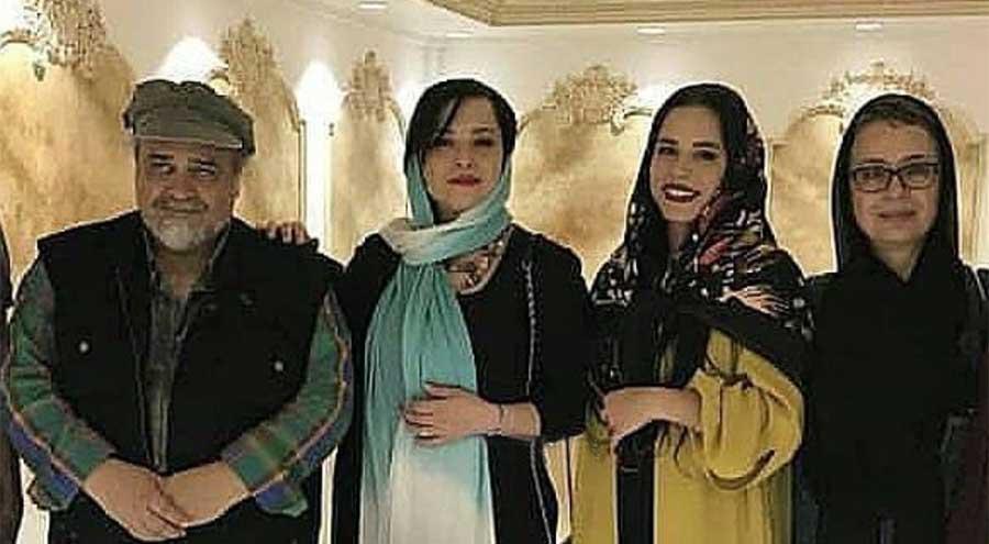 مهراوه و ملیکا شریفی نیا پدر و مادرشان را آشتی دادند! + عکس