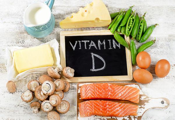 10 علامت کمبود ویتامین D