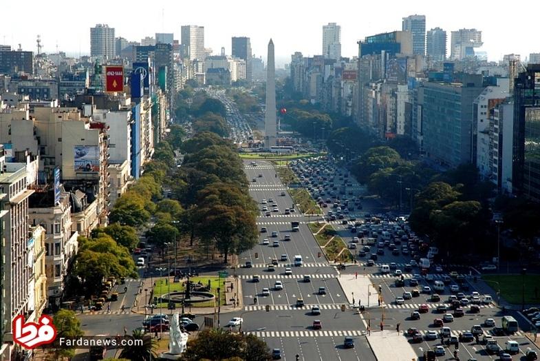 پهنترین خیابان جهان + عکس