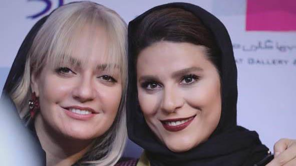 «سحر دولتشاهی» و «مهناز افشار» در آغوش هم! + عکس