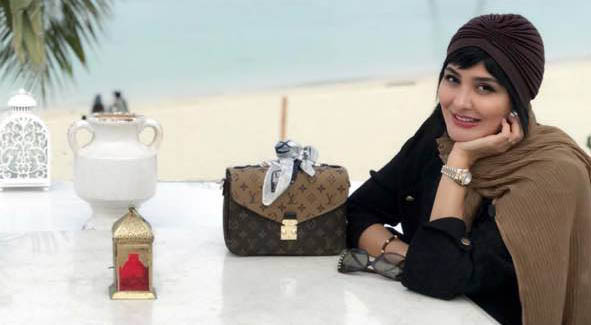 مریم معصومی در کنار دریا! + عکس