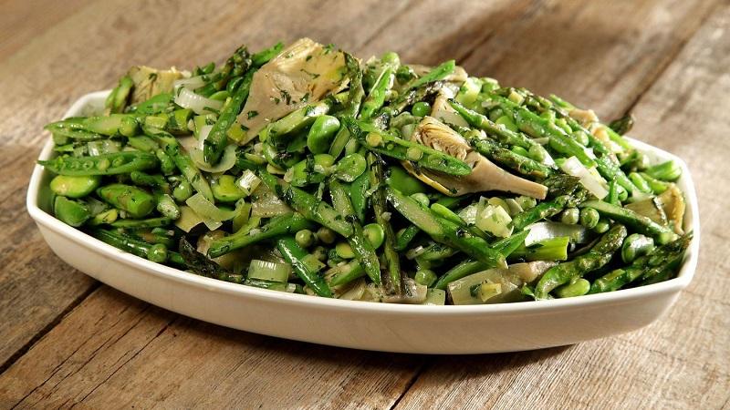 چطور سبزیجات را سالم سرخ کنیم