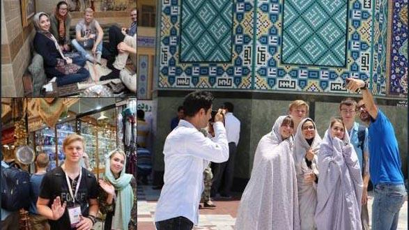 بانوان خارجی در المپیاد زیست شناسی تهران + عکس