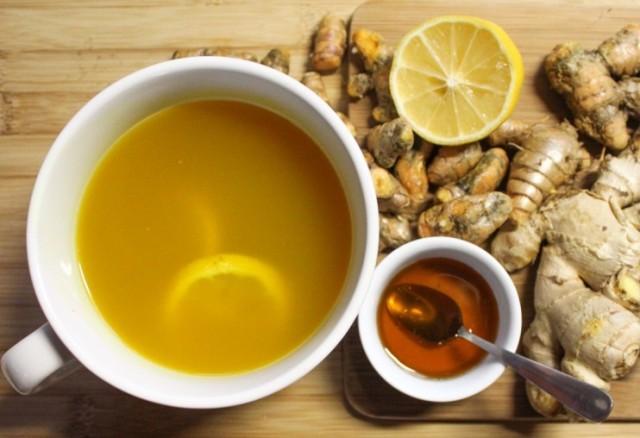طرز تهیه چای زردچوبه برای پاکسازی کبد