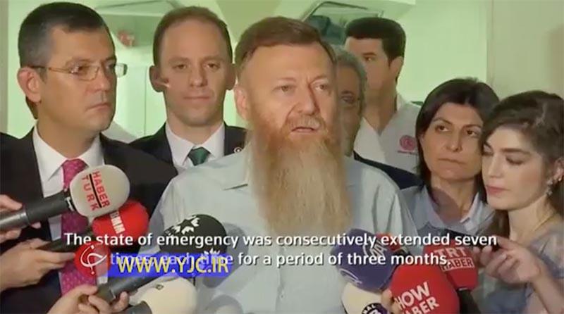 سیاستمداری که ریشش را بالاخره تراشید! + عکس