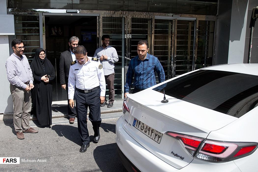 خودرو لاکچری رئیس پلیس راهور تهران! + عکس