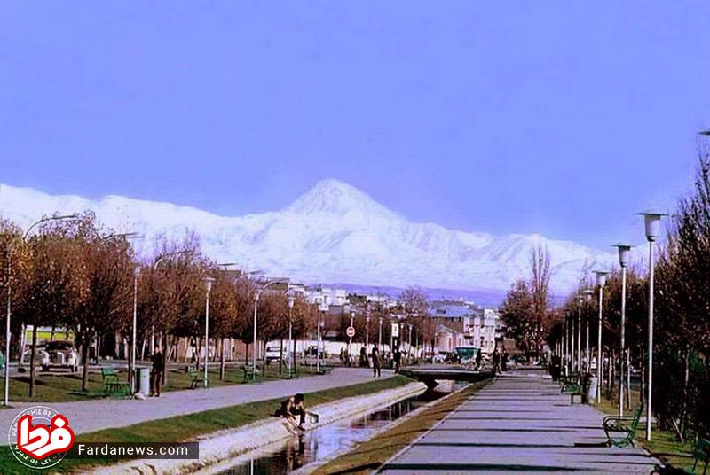 بلوار کشاورز تهران در ۵۵ سال قبل + عکس