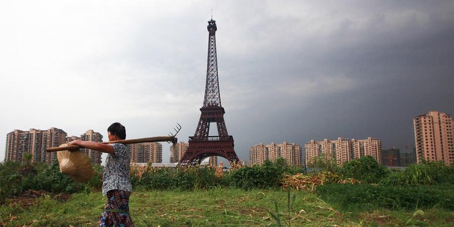 چینی ها پاریس را هم کپی کردند! +عکس
