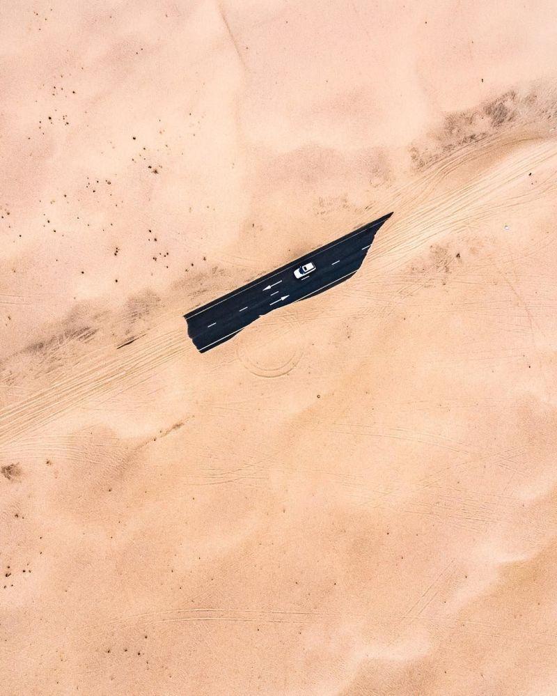 شن های روان زیرساختهای امارات را می بلعد! + عکس