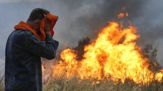 نبود تجهیزات مکانیزه مهار آتش در منطقه حفاظت شده پرور