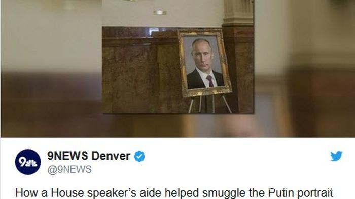 تصویر پوتین جَنجالی شد! + عکس