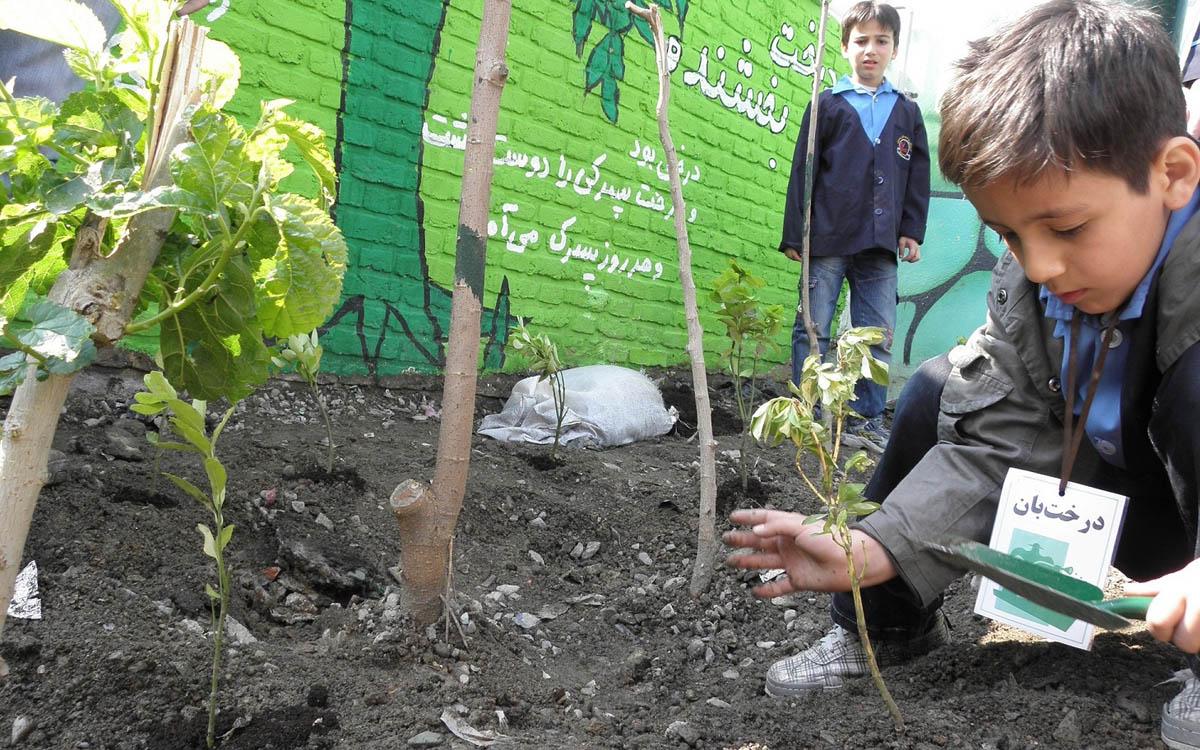 مدرسه طبیعت،فرصتی برای آشنایی کودکان با محیط زیست