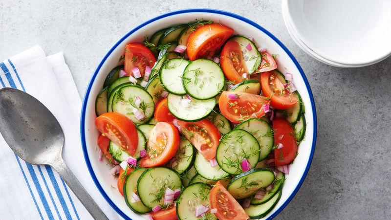 مضرات وحشتناک خوردن خیار و گوجه فرنگی با هم