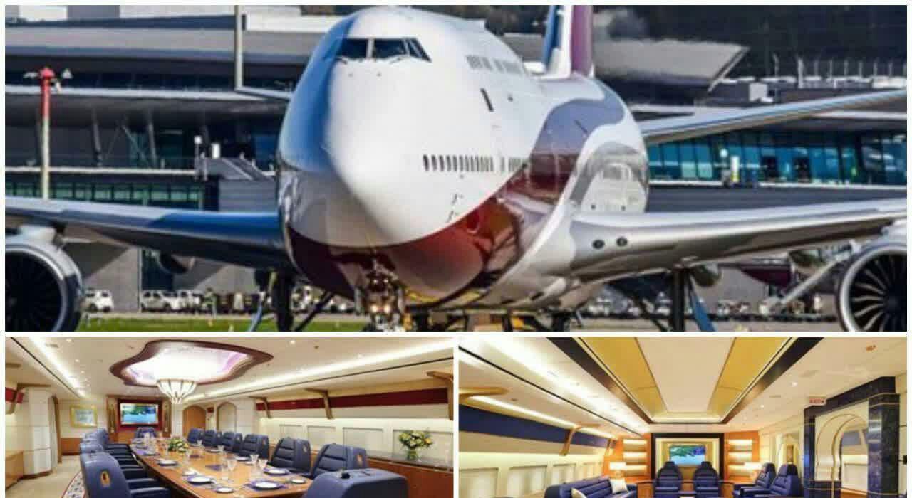 امیر قطر هواپیمای لاکچری خود را به اردوغان هدیه داد! + عکس