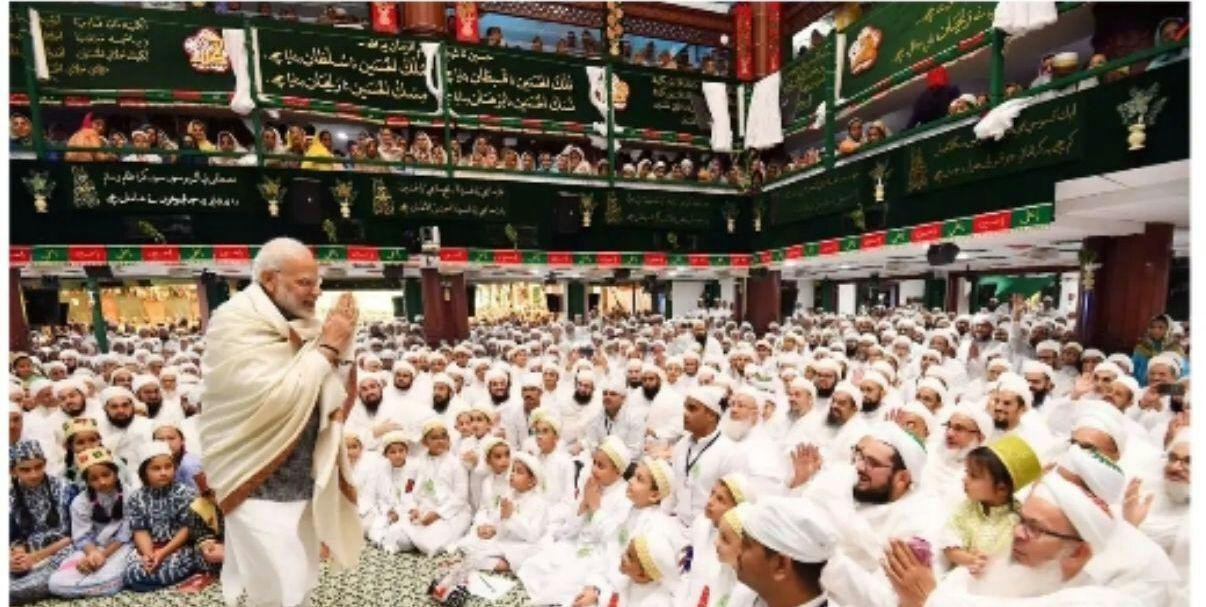 نخست وزیر هند در عزاداری امام حسین + عکس