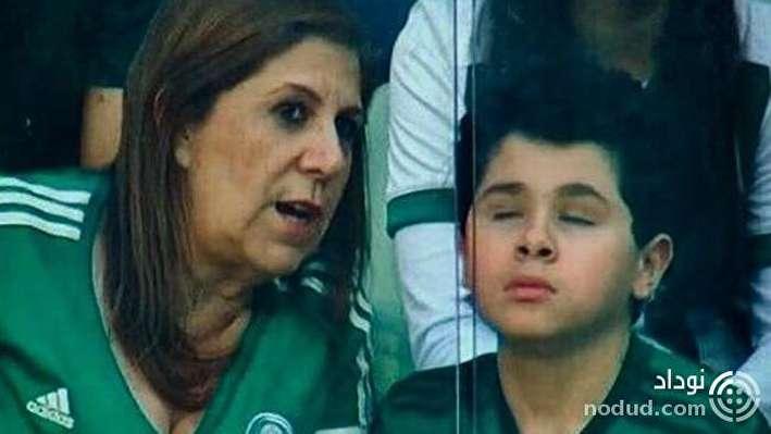 این ز ن مهربان ترین گزارشگر فوتبال دنیاست! + عکس