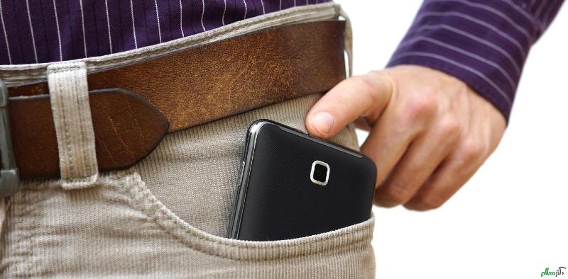 ترفندهایی برای گاهش امواج موبایل
