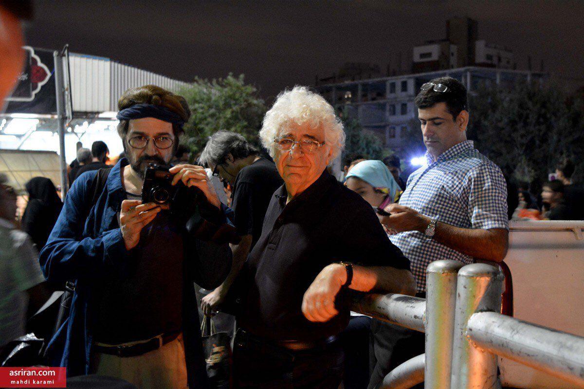 لوریس چکناواریان در شام غریبان + عکس