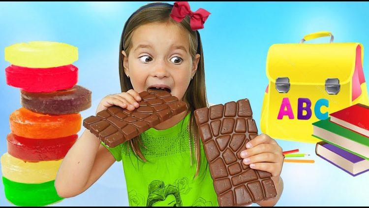 چرا دانش آموزان نباید زیاد شیرینی و شکلات بخورند