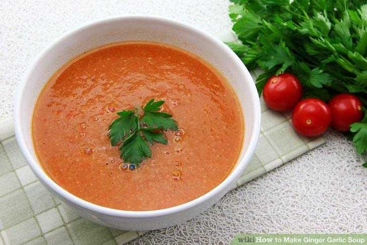 با سوپ سم زدای سیر و زنجبیل و طرز تهیه آن آشنا شوید