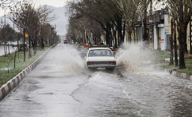 بارش های شدید و آبگرفتگی در شمال و شمال شرق کشور