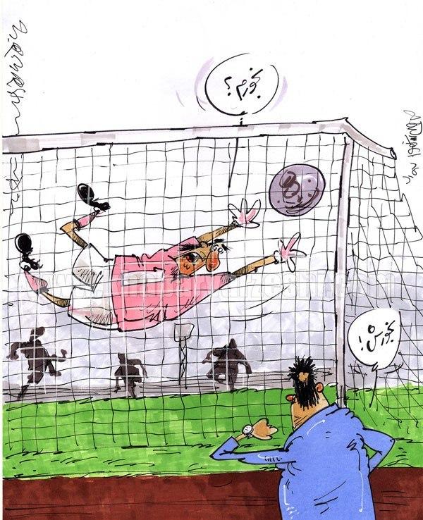 شرط بندی در فوتبال ایران؛ هر گل ۳۰۰ میلیون! + عکس