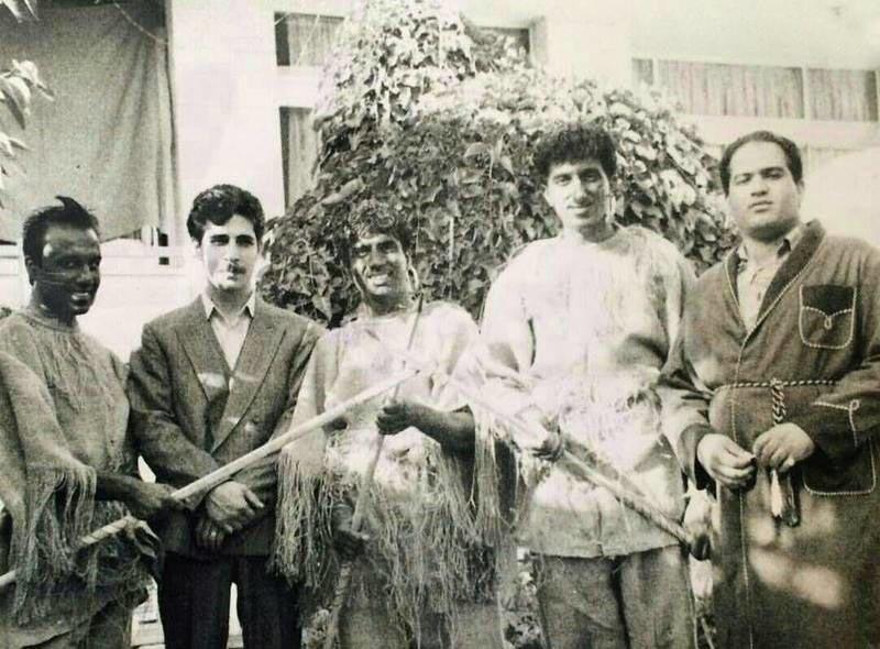 پشت صحنه «ساعت خوش» در سال ۷۳ + عکس