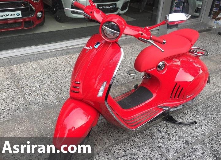 موتورسیکلت ۲۰۰ میلیونی در ایران + عکس