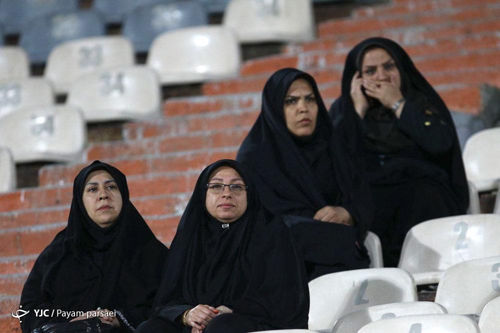 خانم های پلیس در ورزشگاه آزادی + عکس