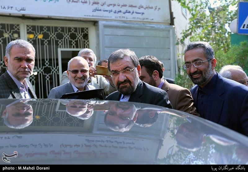 ماشین محسن رضایی + عکس
