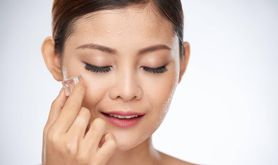 جوانسازی پوست با معجزه یخ را امتحان کنید