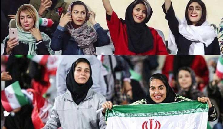 واکنش اشکان دژاگه به حضور بانوان در ورزشگاه + عکس