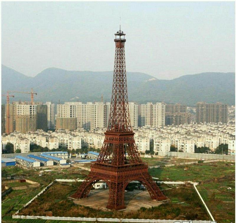 برج ایفل چینی +عکس