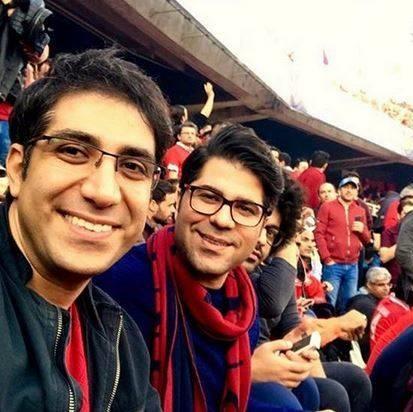 حامد همایون در استادیوم آزادی + عکس