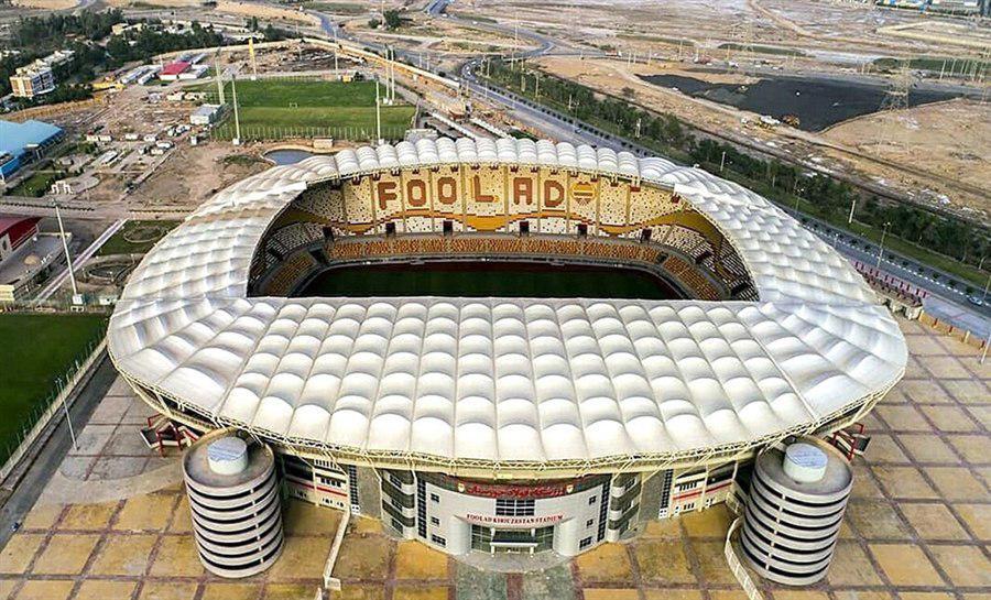 حرفه ای ترین ورزشگاه ایران افتتاح شد + عکس