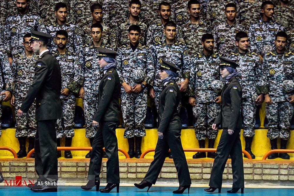 بانوان نظامی خارجی در تهران! + عکس