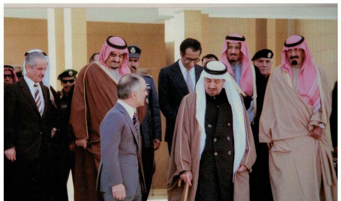 تصویر نادری از پنج شاه عربی (عکس)