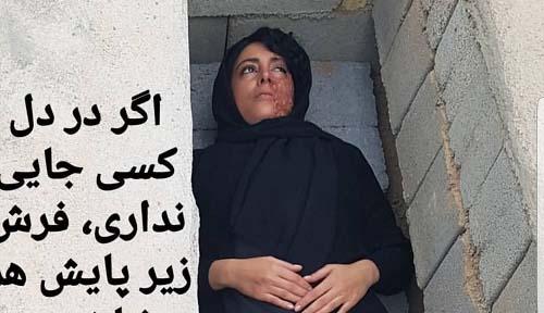 هنرپیشه معروف در قبر! + عکس
