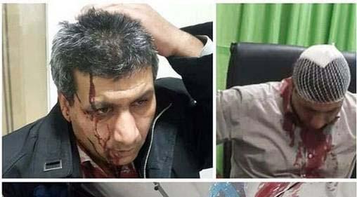 ضرب و شتم خونین یک پزشک در مشهد + عکس