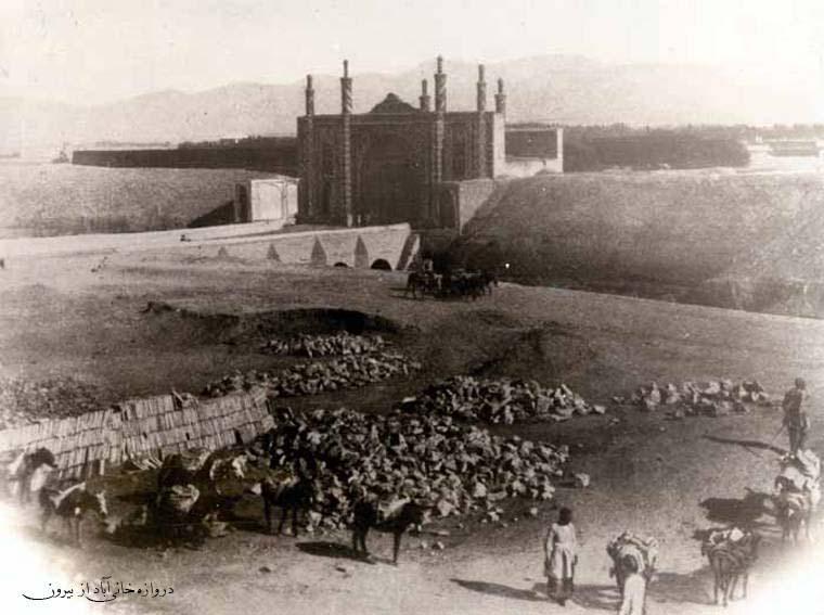 «خانی آباد» در زمان قاجار + عکس