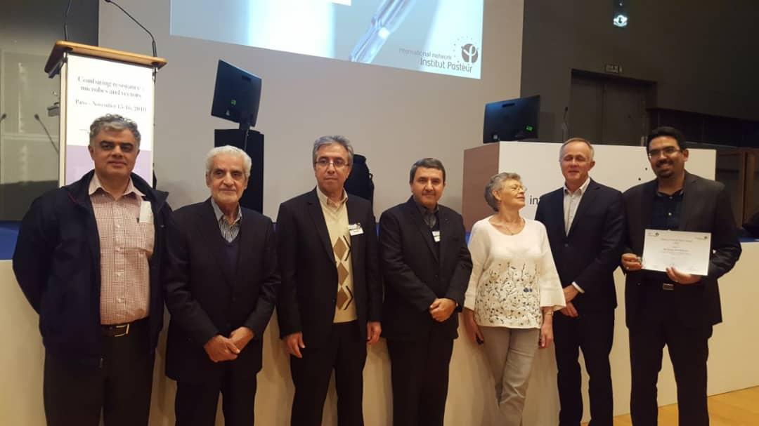 جایزه شبکه بین المللی انستیتوپاستور به محقق ایرانی تعلق گرفت