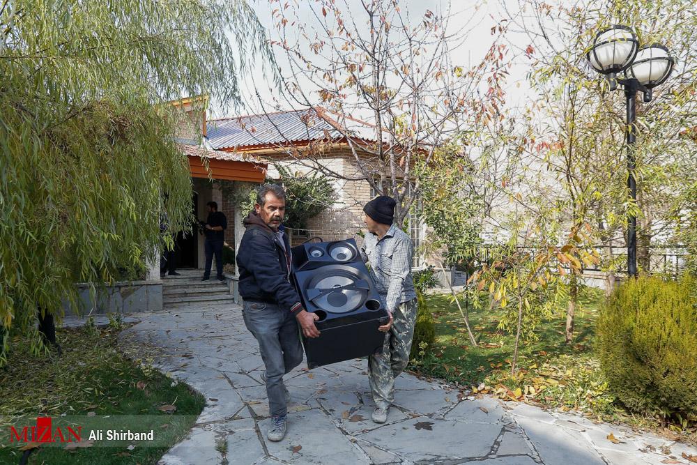 تخریب ویلای جنجالی در اوشان - فشم + عکس