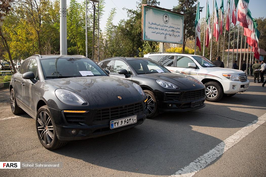 خودروهای میلیاردی سارقان تهران + عکس