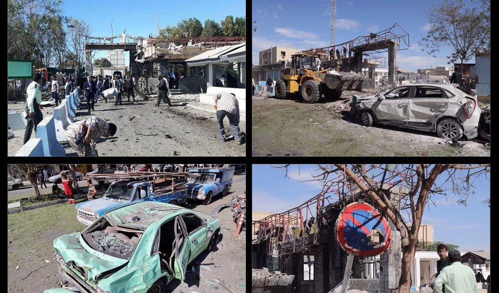 چابهار پس از حادثه تروریستی + عکس