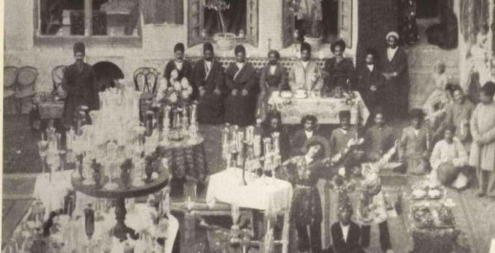 عروسی لاکچری در دوره قاجار! + عکس