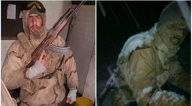 پاسداری از مرز ایران در برف و کولاک + عکس