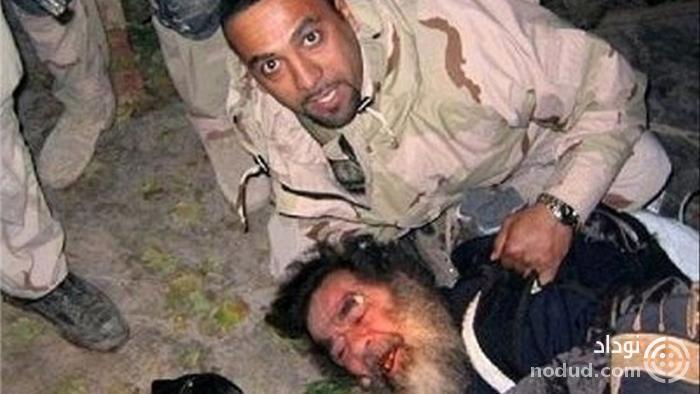 تصویری ترسناک از صدام حسین بعد از دستگیری! + عکس